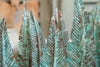 Handmade Copper Feathers with Verdigris Patina - Decorative Antiques UK  - 3