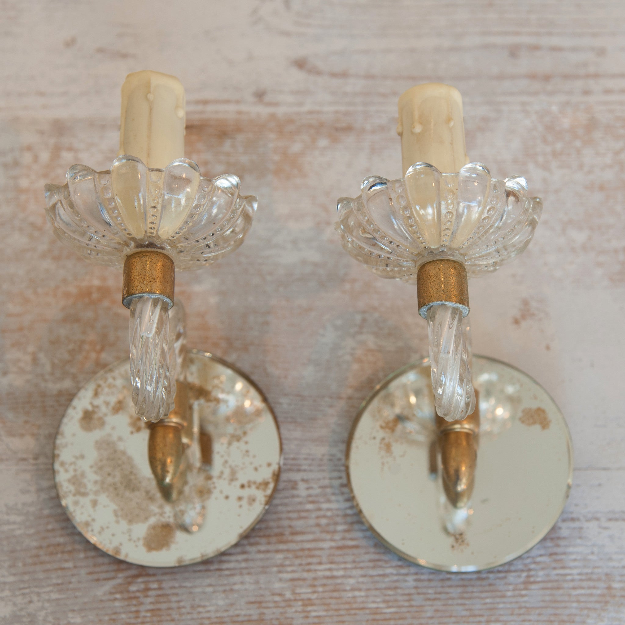 pin candle mirror holder champagne sconce sconces mirrored wall