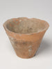 Antique French Pine Resin Terracotta pots
