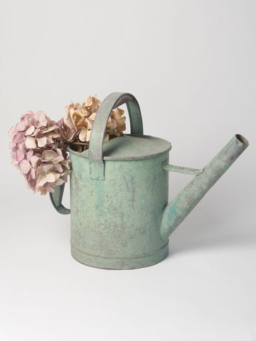 Antique French Green Watering Can