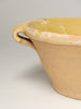 Antique French Tian Bowl with yellow glaze