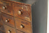 Amazing Antique Seed Drawer Cabinet