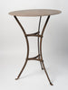 Antique French Metal Bistro Table