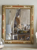 Antique French Gilt and Gesso Mirror
