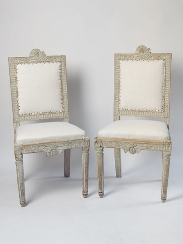 Antique 18th Century Swedish Chairs