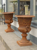 Amazing Antique Style Decorative Cast Iron Urns