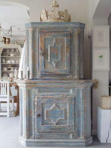 Antique Swedish Baroque Cupboard, circa 1750