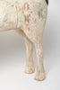 Amazing large antique Swedish horse, dry scraped to original paint