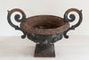 Antique French Cast iron Black Jardiniere - Decorative Antiques UK  - 5