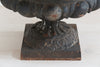 Antique French Cast iron Black Jardiniere - Decorative Antiques UK  - 7