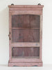 Antique Painted Glazed Wall Cupboard - Decorative Antiques UK  - 1