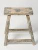 Antique Rustic Hungarian Wooden Stools