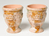 Pair Authentic Miniature Replicas Anduze Terracotta pots