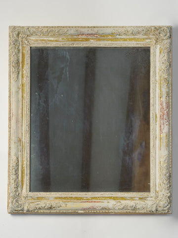 Antique French Mercury Glass Mirror, Circa 1850