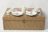 Amazing Antique French Child's Dinner Service Toy Set in original box, Rare