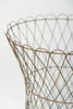 Antique French Wire Waste Paper Basket