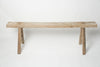 Vintage Rustic Elm Benches