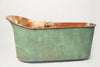 Antique 19th Century French Copper Slipper Bath