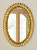 Mid Century Spanish Gilt Metal Sunburst Mirror