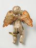 Antique 18th Century Silver Gilt Italian Cherub Putti wall sconce