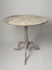 Antique Swedish Oval Tilt Table