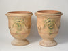Pair Authentic Handcrafted Anduze Planters dated 2010