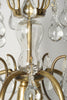 Antique Swedish Crystal Chandelier, circa 1910