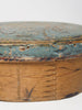 Antique Swedish Folk art Bentwood Box