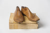 Pair Antique Child's Wooden Shoe lasts