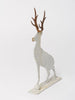 Handcrafted steel stag decorations