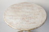 Antique 19th Century Swedish Round table, dry scraped