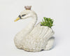 Antique French Swan Planter