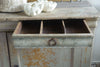 Antique 19th Century French Enfilade Buffet with original paint