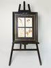 Amazing Antique Framed Herbariums in original frame