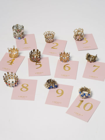 Miniature Vintage Crowns for Madonna figurines
