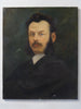 Fabulous Signed Antique French Oil Portrait Painting by Paul De Frick