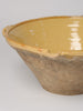 Antique French Yellow Tian Bowl