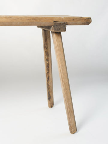 Vintage Swedish Rustic Bench/table