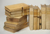 Antique 18th Century Italian Vellum Books