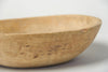 Antique Swedish Root Bowl with inscription and metal repairs