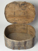 Antique Swedish Primitive Bentwood Box (large size)