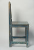 Antique Swedish Lekand style chair in Blue