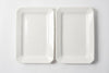 Pair Antique French Rectangular Platters by Sarreguemines et Digoin