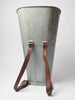 Amazing Antique French Galvanized Grape Hopper