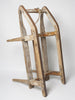 Antique 19th Century Swedish Wooden Sledge