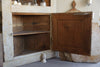 Amazing Pair Antique 19th Century French Corner Cabinets