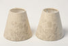 Beautiful Handmade Linen Candle lampshades