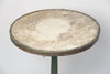Amazing Antique French Marble Bistro Table, signed