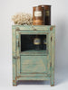 Handcrafted Indian Glazed Cabinet Cupboard