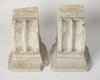 Pair Vintage French Stone Corbels